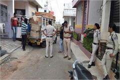 mandsaur police raids a gunpowder