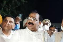 punjab bjp chief ashwani sharma attacked in hoshiarpur