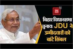jdu distributed symbols to candidates