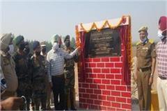 defense minister rajnath singh inaugurated the kassowal bridge