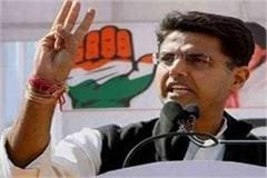 sachin pilot to hold rallies in mp from 27 28 october