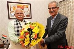 ds dhesi appointed chief principal secretary to haryana cm