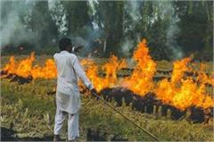 up a case has been registered against 60 farmers for burning stubble