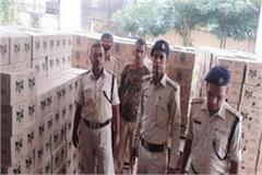 797 cartons of foreign liquor recovered from truck in kaimur driver arrested