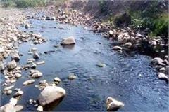 industry left poisonous water in manpura river
