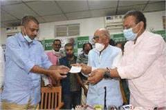 satyaprakash son of former union minister raghuvansh singh joins jdu