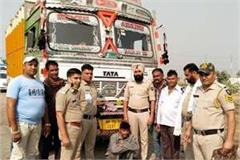 stolen truck recovered from phagwara one arrested