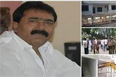 no good for land mafia in up bulldozer on pappu ganjia s farm house