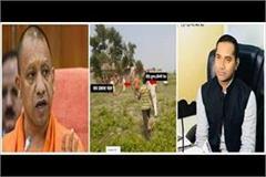 balia firing case samajwadi party attack yogi adityanath