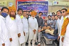 muslim society donated blood on eid miladunbi