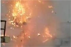 incident occurred during ravan dahan blast occurred