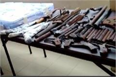 hathras police got big success illegal arms factory busted