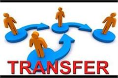 government transferred 7 officers of hpfs cadre