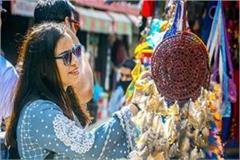 tourists reduced on weekend in mcleodganj