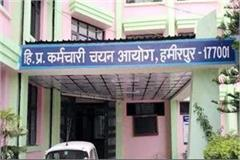 server of staff selection commission hamirpur again fail