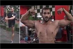 without a leg mohit built a mountain like body won many medals update