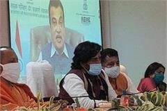 nitin gadkari inaugurates 16 road projects including gorakhpur bypass forelane