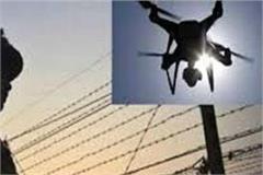 drones seen on indo pakistan border near dera baba nanak