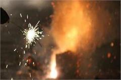 fireworks cracked in bihar despite ban on firecrackers