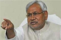 nitish agonized over the accusation of tejashwi