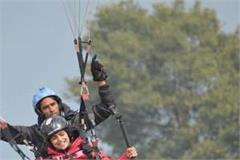 shahnaz paragliding in billing