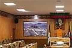 the 10th session of the exiled tibetan parliament from 15 march next year