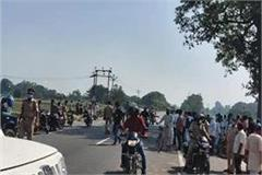 three people died after being crushed by a truck in madhubani
