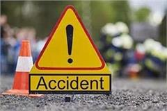 a young man died in a fierce collision of scorpio and bike