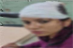 beaten married women in jalandhar due to affair
