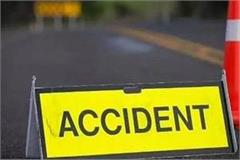 two people killed by overturning pickup van in rohtas