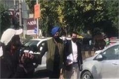 captain amarinder singh s son raninder reached jalandhar ed office