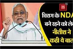 nitish said about ljp s stay in nda