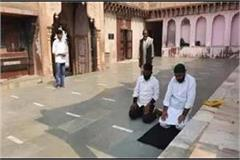 namaz at temple accused faizal khan was active in shaheen bagh