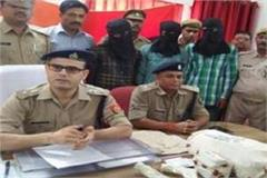 3 arrested after encounter in murder of businessman in mathura