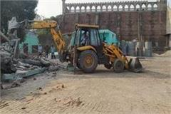 administration s bulldozer on the cry of famous sufi saint khushal mian
