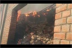 haryana news fire in the thread factory