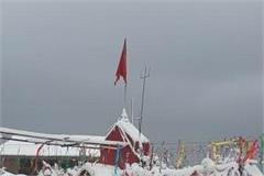 dalhousie s first snowfall of the season attractive sight