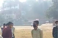 school opened but parents showed red signal to children