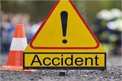 road accident tipper tanker collision driver death