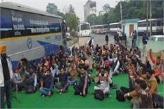 traffic stopped at ludhiana bus stand for 2 hours