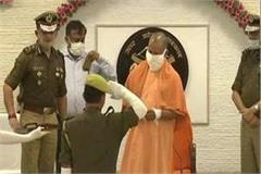 cm yogi gave promotion letter to 5042 pac jawans