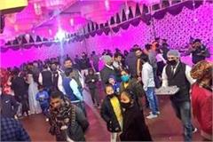 first fir lodged in meerut gathering of 350 guests in place of