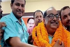 devaria newly elected mla dr satya prakash mani tripathi sworn in the assembly