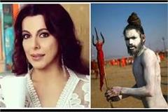 pooja bedi compares milind soman to naga sadhus