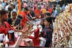 markets adorned due to dhanteras