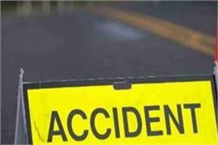 road accident traumatic death of one person due to unknown vehicle