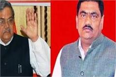 former cabinet minister rajpal tyagi accused son mla ajit of trapping
