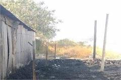 2 shops destroyed due to arson loss of millions