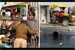 road accident in palwal