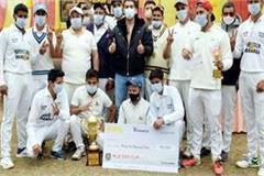 madan lal sharma memorial cricket trophy